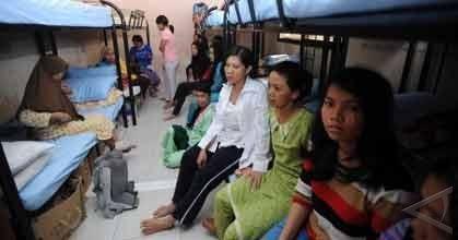 Penampungan Buruh Migran