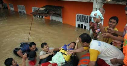 Evakuasi Banjir