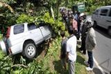 Jalur hutan Denpasar-Gilimanuk dipasangi spanduk peringatan kecelakaan
