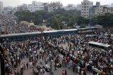 Tabrakan kereta di Bangladesh tewaskan 14 orang