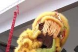 Atraksi Barongsai Meriahkan Imlek di Karimun