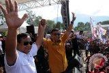Prabowo Subianto jenguk Wiranto di RSPAD Gatot Subroto
