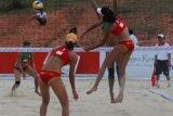 Voli Pantai - Dua Tim Putri Indonesia Tersingkir