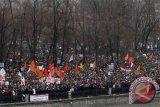 Ribuang warga Rusia berunjuk rasa tuntut pemilihan bebas