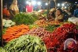 Harga sayur di Gunung Kidul merangkak naik