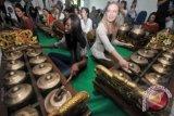 Grup gamelan di Perancis antusias ikuti pelatian