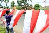 Pedagang Bendera Musiman Bermunculan Jelang Perayaan Kemerdekaan