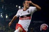 Hattrick Pazzini Menangkan Milan atas Bologna
