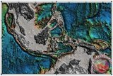 Lempeng Laut Maluku ditekan dari dua sisi