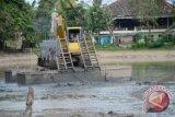 Komplek perumahan murah jakabaring dibangun kolam retensi