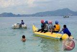 Warga mulai ramai kunjungi lokasi wisata pantai di Lampung