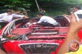 Mobil Tuxuci Dahlan Iskan terperosok di Magetan