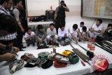 Lima remaja tawuran diamankan polisi