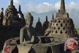 Stupa Induk Borobudur Kembali Ditutup