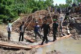 TNI Gelas Karya Bhakti Di Waykanan