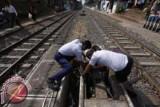 Senator : Pembangunan rel kereta terhambat di lahan