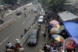 PKL mainan anak Taman Denggung mengeluhkan tempat relokasi