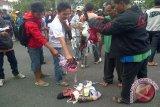 Ribuan karyawan PT Mitra Ogan OKU demo ke BPJS Ketenagakerjaan