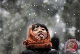 Hujan salju akhiri kemarau di Beijing