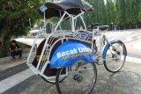 Becak Listrik Diuji Coba di Yogyakarta