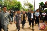 Wapres Kunjungi Lokasi Bencana Manado