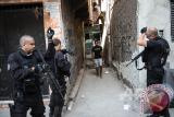Militer Brasil lancarkan operasi anti-narkotika di Rio de Janeiro
