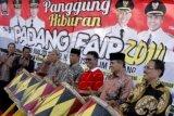 Mahyeldi dan Emzalmi kembali bertugas sebagai Wali Kota dan Wakil Wali Kota Padang