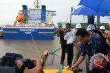 Kapal Pusri berlayar perdana angkut 9.014 ton pupuk