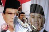 Pilpres - Prabowo Boyong Rhoma Dan Dhani ke Makassar