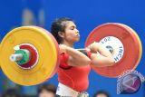 12 Lifter putri perebutkan medali pada kelas 48 kilogram