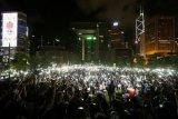 Hongkong Bantah Gunakan Geng untuk Bubarkan Aksi Protes