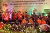 Papua  Juara Umum Lomba Anggrek