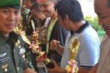 Wartawan Antara Sultra Juara Menembak HUT Korbrimob