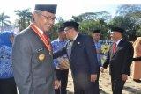 Gubernur Sultra Pimpin Upacara HKN  2014