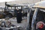 Ledakan bus bawa bom di Irak tewaskan belasan orang