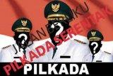 Sepasang calon perseorangan Pilkada Supiori mendaftar di KPU