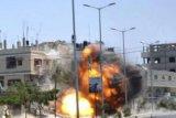 Pesawat tempur Israel serang posisi militer Suriah di Homs dan pinggiran Damaskus