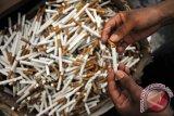 Menkeu musnahkan lima juta batang rokok