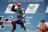 Lorenzo lengkapi 'hatrik' dengan menangi balap di Mugello