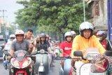Ribuan komunitas scooter berkunjung ke Bantaeng