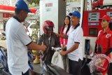 Pertamina Papua beri hadiah kepada pengguna pertamax