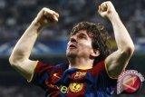 Messi gagal cetak gol saat Barcelona hempaskan Eibar 2-0
