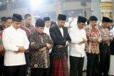 Jokowi Shalat Id Di Martapura Kalsel