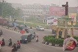 BNPB: Asap karhutla Sumatera dan Kalimantan menumpuk di Pekanbaru
