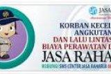 Jasa Raharja Jateng Bayar Santunan Kecalakaan di Cakung