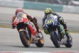 Honda tuding Rossi sengaja menendang Marquez