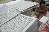 2,3 ton sampul Al Quran bahan terompet diamankan
