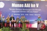 Ketua AAI : Munas AAI diharapkan tidak terpecah