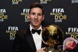Lionel Messi Raih FIFA Ballon d'Or Untuk Kelima Kalinya