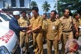Pemkab Barito Utara Salurkan Mobil Ambulan